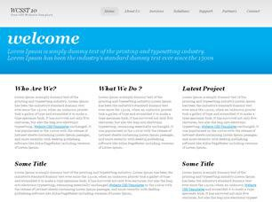 WCSST 10 Free CSS Template