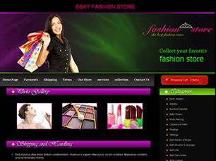 Fashion Store Free CSS Template