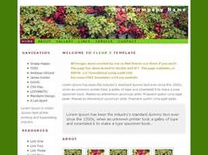 Fleur 2 Free CSS Template