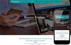 Mortgage a Corporate Category Bootstrap Responsive Web Template