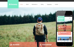 Go Away a Travel Agency Flat Bootstrap Responsive web template