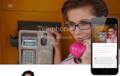 Telephone a Corporate Business Flat Bootstrap Responsive Web Template
