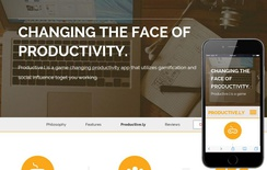 Productively a App based Flat Bootstrap Responsive web template