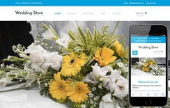 Wedding Store a Wedding Ecommerce Flat Bootstrap Responsive Web Template