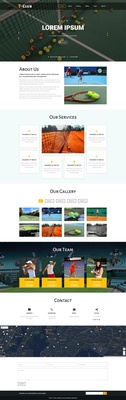T club a Sports Category Flat Bootstrap Responsive Web Template