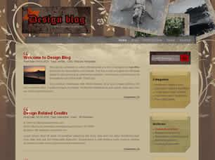 Design Blog Free CSS Template