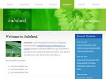 Subdued Free CSS Template