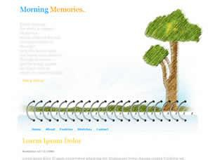 Morning Memories Free CSS Template