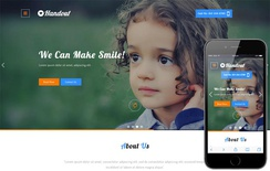 Handout a Charity Category Bootstrap Responsive Web Template