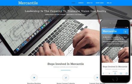 Mercantile a Corporate Business Category Flat Bootstrap Responsive Web Template