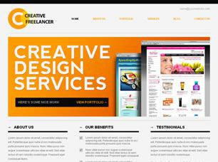 Creative Freelancer Free CSS Template