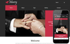 Marry a Wedding Planner Flat Bootstrap Responsive Web Template