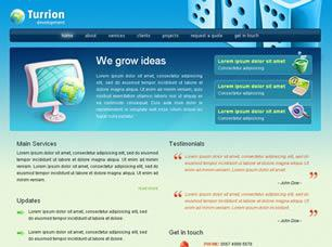 Turrion Development Free CSS Template