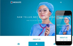 Medicate a Medical Category Bootstrap Responsive Web Template