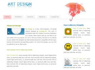 Art Design Free CSS Template