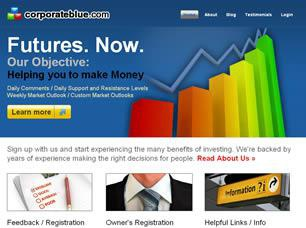 Corporate Blue Free CSS Template