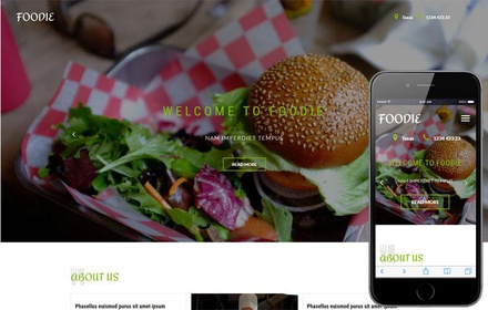 Foodie a Restaurant Category Bootstrap Responsive Web Template