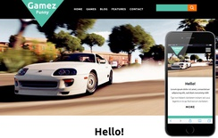Gamez a Games Category Flat Bootstrap Responsive web template