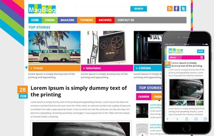 Mag Blog a Entertainment Category Flat Bootstrap Responsive Web Template