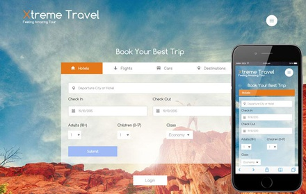 Xtreme a Travel Guide Flat Bootstrap Responsive web template