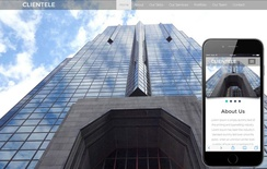 Clientele A Corporate Category Flat Bootstrap Responsive  Web Template