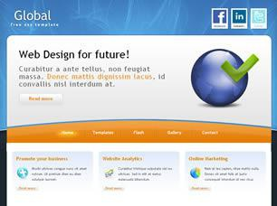 Global Business Free CSS Template