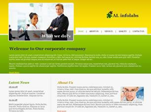 AL Infolabs Free CSS Template