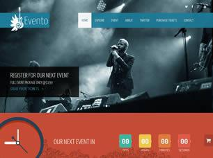 Evento Free CSS Template