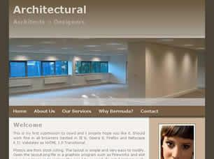 Architectural Free CSS Template