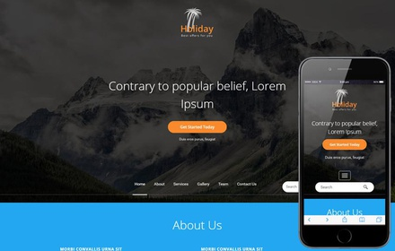 Holiday a Travel Category Bootstrap responsive Web Template