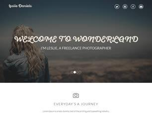 Leslie Deniels Free CSS Template