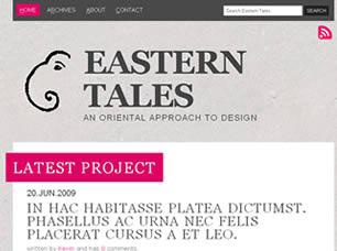 Eastern Tales Free CSS Template