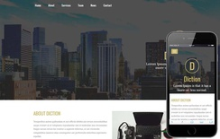 Diction a Corporate Business Flat Bootstrap Responsive Web Template