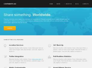 Continents AIO Free CSS Template