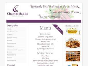Chamberlands Free CSS Template