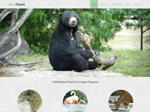 Zoo Planet Free CSS Template