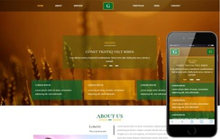 Grains an Agriculture Category Bootstrap Responsive Web Template