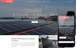 Solar Energy an Industrial Category Bootstrap Responsive Web Template