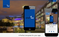 Smart App a App based Mobile Website Template
