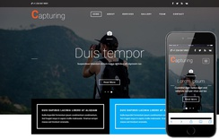 Capturing a Photo Gallery Category Bootstrap Responsive Web Template