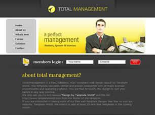 Total Management Free CSS Template