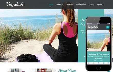 Yoga Hub a Sports Category Flat Bootstrap Responsive Web Template