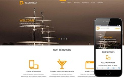 Aluspisan a Corporate Multipurpose Flat Bootstrap Responsive web template