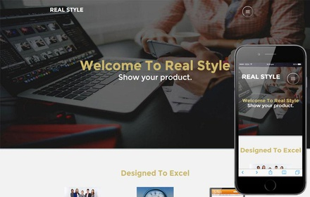 Real Style Corporate Category Flat bootstrap Responsive Web Template