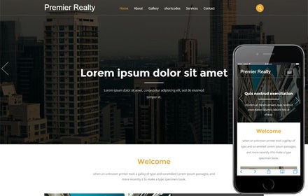 Premier Realty a Real Estate Category Flat Bootstrap Responsive Web Template