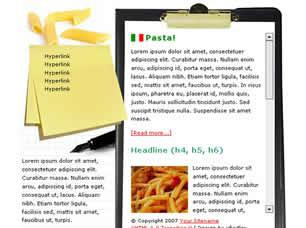 Pasta Free CSS Template