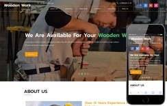Wooden Work an Industrial Category Bootstrap Responsive Web Template