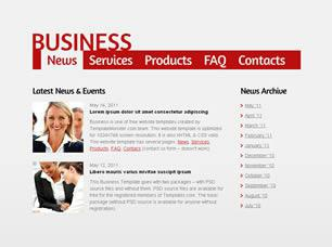 Business Free CSS Template