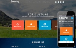 Sowing Agriculture Category Bootstrap Responsive Web Template