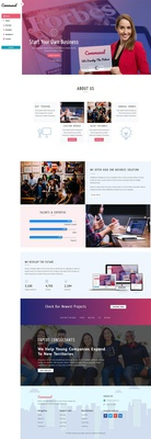 Communal Corporate Category Bootstrap Responsive Web Template
